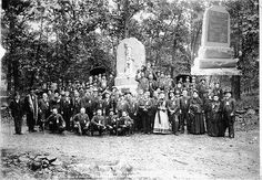 Gettysburg monument dedication, November 1863.