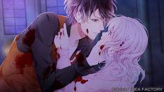 Diabolik Lovers, Anime Love Couple, Cute Anime Couples, Subaru Sakamaki, Ruki Mukami, Tru Love, Lovers Pics, Arte Cyberpunk, Otaku