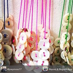 Repost from @joeymoss17 A cluster of new necklaces ready for tomorrow's market 12-5pm @e17designers @mirthmarvele17