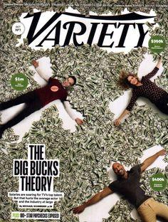 VARIETY MAGAZINE OCTOBER 4 2016 BIG BANG THEORY KEVIN HART ROCK DWAYNE JOHNSON