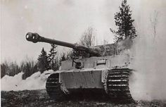 Tiger . One of the first to see the front . Thies first tank`s , were giving to the Waffen SS Division`s