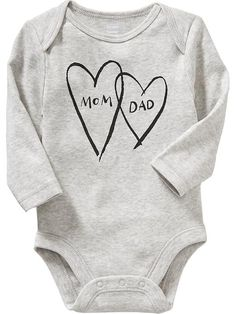 Long-Sleeve Graphic Bodysuits for Baby My Baby Girl, Our Baby, Gender Neutral Baby Clothes, Bitty Baby, Everything Baby, First Baby, Baby Fever, Baby Bodysuit, Future Baby