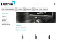 Deltron Trading is importeur en groothandel in antenne-installatie en radiocommunicatie. http://www.deltron.nl/ #onlinesucces
