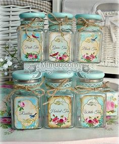 10 Aware Clever Tips: Shabby Chic Blue Bedroom shabby chic white diy.Shabby Chic Desk Old Doors shabby chic bathroom printables. Shabby Chic Mode, Shabby Chic Vintage, Shabby Chic Crafts, Shabby Chic Farmhouse, Shabby Chic Living Room, Shabby Chic Kitchen, Shabby Chic Style, Shabby Chic Decor, Shabby Chic Jars