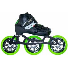 The Luigino Kids Challenge 3 Wheel Adjustable Inline Speed Skate: 2 Skates 7 Sizes, the number one kids adjustable speed skate in the world. Build your own skate, just the way you want. You start with the boot and add any Luigino Frame, Atom Wheels Roller Derby, Roller Skating, Bike Rollers, Inline Speed Skates, Skates For Sale, Outdoor Skating, Skate 3, 3rd Wheel, Cycling Equipment