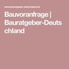 Bauvoranfrage | Bauratgeber-Deutschland