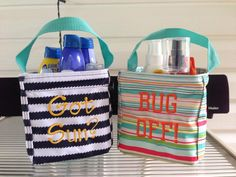 Thirty-One Gifts – Little Carry All #ThirtyOneGifts #ThirtyOne #Monogramming #Organization #LittlesCarryAll