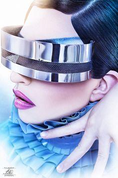 Future Fashion, Futuristic Girl, Nori Zay, Cyberpunk