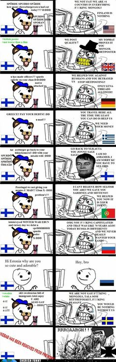 Finland is the ultimate troll, apparently.