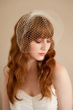 blusher bridal veil $200, emilliner.etsy