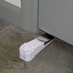 Discover the best Dorm and Apartment Alarm Kit at SABRE. It has a door stop alarm, door/window alarm and personal alarm. See our innovative security products. Home Depot, Best Home Security, Safety And Security, Security Camera, Security Tips, House Security, Security Room, Adt Security, Home Security Alarm