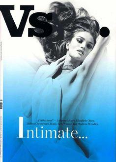 VS Magazine, Julianne Moore, Elizabeth Olsen & Helena Christensen