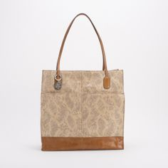 A snakeskin printed tote!? Yes please. Plus we love how it has caramel leather accents! #SpringDream #Hobo