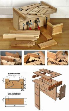 Shopmade Multi-Joint Jig - Joinery Tips, Jigs and Techniques | WoodArchivist.com