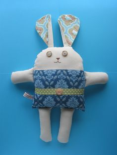 Bunny ready for Easter.