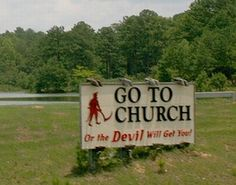 a real sign in Alabama