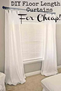 using curtain clips a different way what a huge difference for the bedroom curtains make this house a home decorating pinterest curtain clips