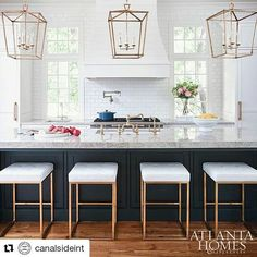 """36 Likes, 1 Comments - Gold and Bold (@goldandboldworld) on Instagram: """"#Repost @canalsideint (@get_repost) ・・・ • Creme De La Creme • Crushing on one of the 2017 Kitchens…"""""""