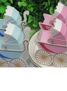 Carriage Favor Box (Set of 12) (050009912)