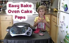 Kids Ultimate Easy Bake Oven Cake Pops Recipe Easy Bake Ultimate Oven, Easy Bake Oven Mixes, Oven Diy, Diy Recipe, Baby Memories, Oven Recipes, Family Activities, Sadie, Healthy Cooking