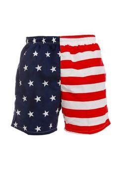 e4ce0b8ba2 BUD/S American Flag Swim Trunks - Shinesty Usa Bikini, Swimming Gear, Navy
