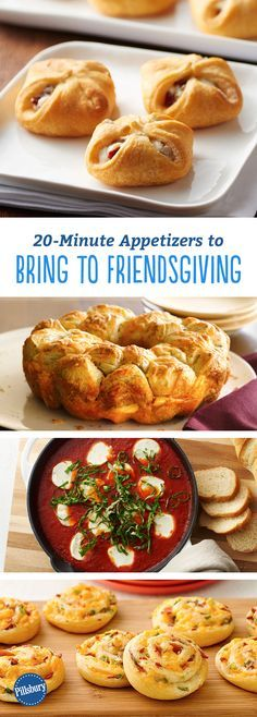 20-Minute Appetizers to Bring to Friendsgiving: Running late to a party? Oh hey, there's an app for that. #thanksgiving #recipes