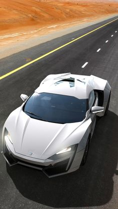 W Motors Lykan Hypersport 2013 #iPhone #5s #wallpaper