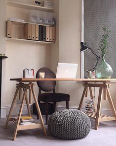 Un coin bureau pile dans l'air du temps