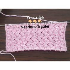 Modelin örülüşü youtube 👇👇👇 NesrinceÖrgüler de #örgümodeli #örgü #örgüaşkı Knitting Videos, Knitting Stitches, Baby Knitting, Knitting Patterns, Crochet Patterns, Knit Crochet, Crochet Hats, Lucet, Couture