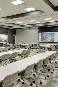 Metalux solutions in municipal buildings