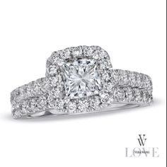 beautiful Love by Vera Wang engagement ring!