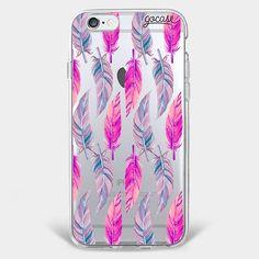 Eu adorei isso Pink Penas