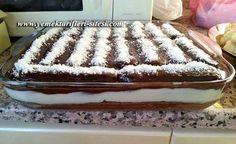 ✿ ❤ Kedi Dilli Ağlayan Kek Tarifi (yine pratik bir tarif. Ağlayan kek pastasının kekini yapmak zor gelirse kedi dili kullanabilirsiniz :)