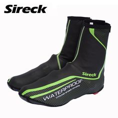 Cycling Shoe Cover Waterproof Reflective MTB Road Bike Bicycle Shoe Warm Boot Cover   #shoecover #bootcover #biking #cycling #cyclingshoes #bikingshoes #mtb #finessaccessories #footwear #sportswear