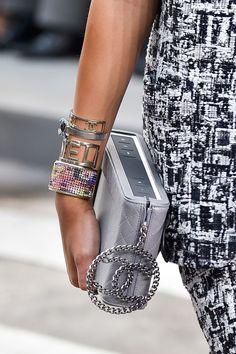 247 details photos of Chanel at Paris Fashion Week Spring 2015.