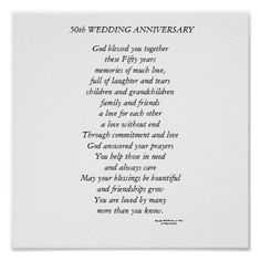 50th anniversary words to say - Google Search