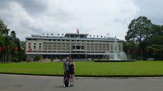 Palacio Presidencial.- Ho Chi Minh (Saigon).-Fotografía:Rebeca Pizarro Vietnam Destinations, Vietnam Tours, Hoi An, Mekong Delta, Hanoi, Cruise, Travel, Palaces, Islands