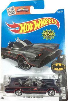 TV Series Batmobile Hot Wheels 2016 Super Treasure Hunt - HWtreasure.com