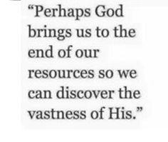Jehovah Jireh my Provider~Faith