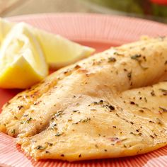 Tilapia can be easily grilled on a sheet of aluminum foil or in a foil pan. Season simply with melted butter mixed with citrus juices and Lawry's® Seasoned Salt.