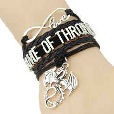 Infinity love Game of Thrones Bracelet