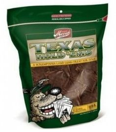 Merrick Lamb Texas Hold 'ems 6x8oz bags *** Be sure to check out this awesome product. (This is an affiliate link and I receive a commission for the sales)