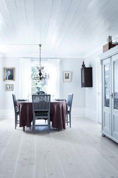 Woonstijl: modern en traditionalistisch.  De combinatie van frisse en moderne kleuren kunnen ook een klasssieke uitstraling geven