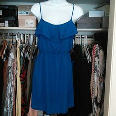 """Spotted while shopping on Poshmark: """"Blue dress""""! #poshmark #fashion #shopping #style #Dresses"""