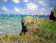 Claude Monet.  Art Institute of Chicago. I bought this once. Wonder where it went.