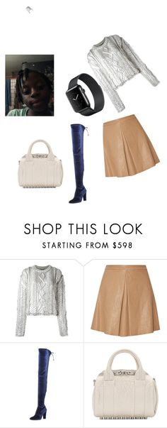 """""""Untitled #175"""" by vasth-queen on Polyvore featuring Filles à papa, Alice + Olivia, Stuart Weitzman and Alexander Wang"""