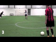 5 Soccer Drills - Soccer Shooting Drills To Improve Soccer Shooting Power . Soccer Shooting Drills, Soccer Training Drills, Soccer Workouts, Basketball Drills, Soccer Coaching, Soccer Players, Basketball Scoreboard, Soccer Gifs, Soccer Quotes