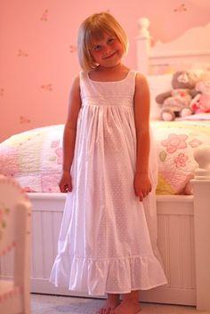 little girl night gown pattern <3
