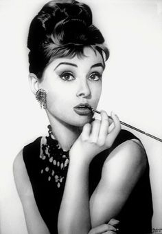 The always lovely, always fashionable Audrey Hepburn.