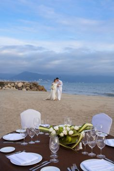 6a36f512817d14 Walk down the aisle to the emerald waters of Banderas Bay with a romantic beach  wedding in Puerto Vallarta